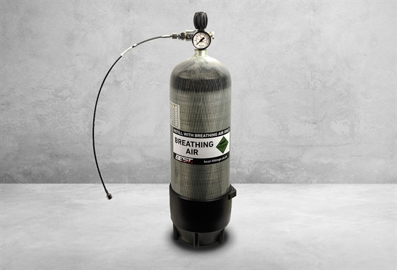 Image of 300 bar Carbon Dykkerflaske - 9 liter