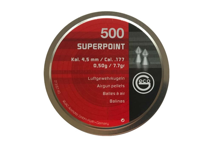 Image of   Geco Superpoint 4,5 mm 7,7 grain