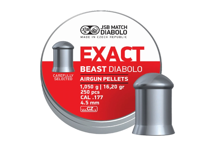 Image of   JSB Exact Beast Diabolo 4,52 mm 16,20 grain