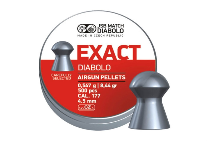 Image of   JSB Exact Diabolo 4,52 mm 8,44 grain