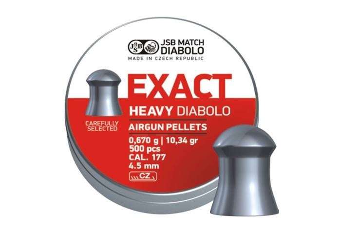 Image of   JSB Exact Heavy Diabolo 4,52 mm 10,34 grain