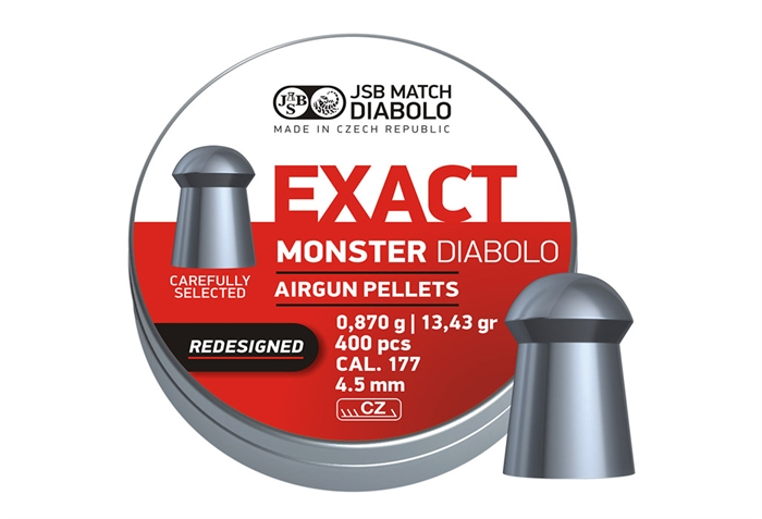 Image of   JSB Exact Monster Diabolo 4,52 mm 13,43 grain