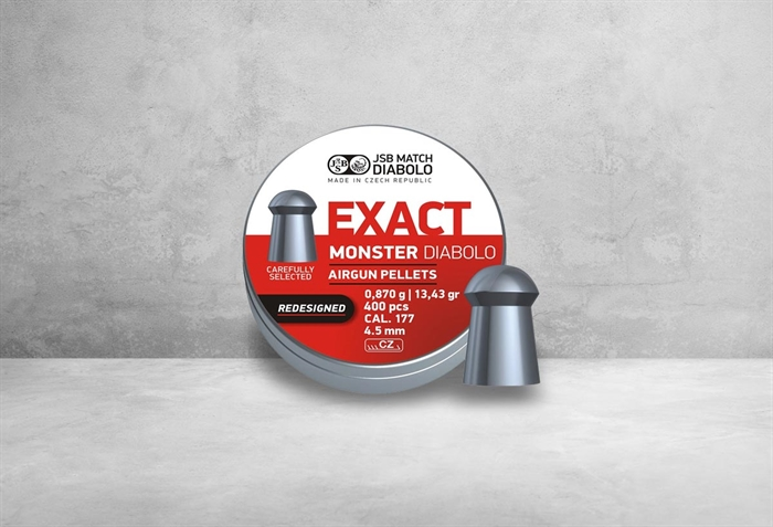Image of   JSB Exact Monster Diabolo Redes. 4,52 mm 13,43 grain