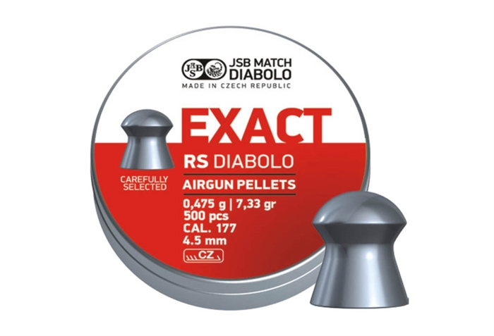 Image of   JSB Exact RS Diabolo 4,52 mm 7,33 grain