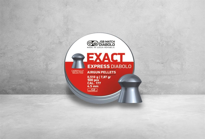 Image of   JSB Exact Express Diabolo 4,52 mm 7,87 grain