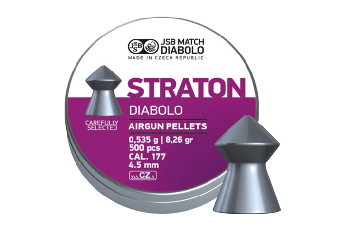 Image of   JSB Straton Jumbo Diabolo 4,50 mm 8,26 grain