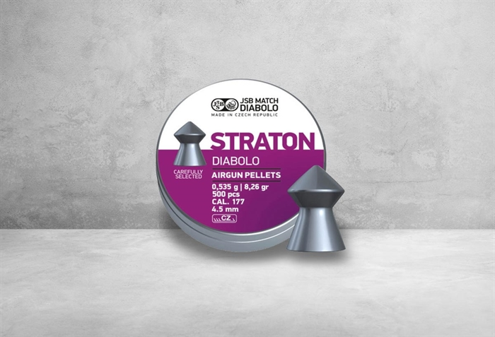 Image of   JSB Straton Diabolo 4,50 mm 8,26 grain