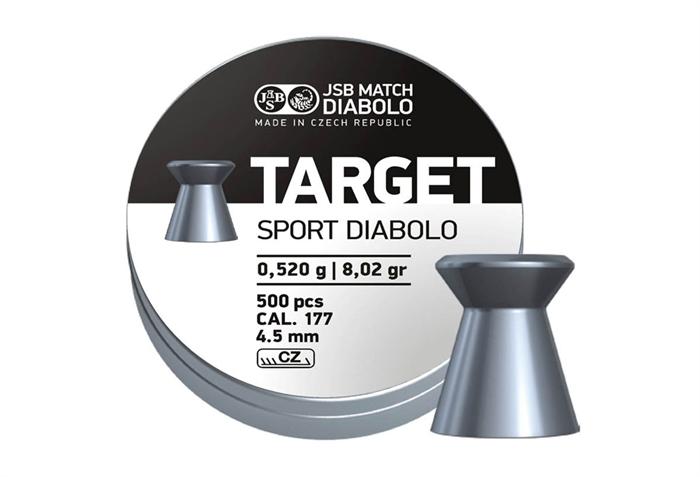 JSB Target Sport Diabolo 4,50 mm 8,02 grain