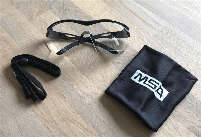 Image of   MSA Racers Skydebrille Klart Glas
