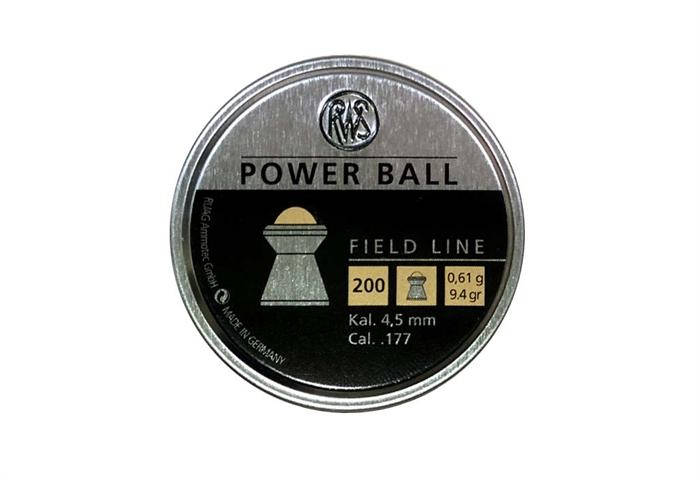 RWS Power Ball 4,5 mm 9,4 grain