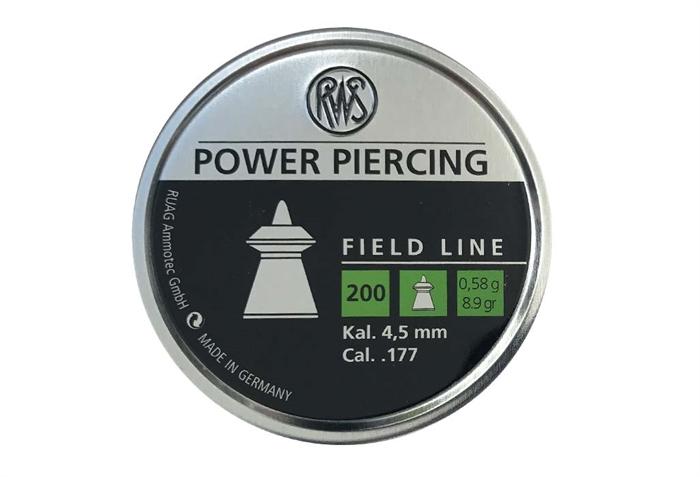 RWS Power Piercing 4,5 mm 8,9 grain
