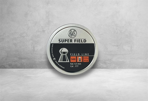 RWS Super Field 4,5 mm 8,4 grain
