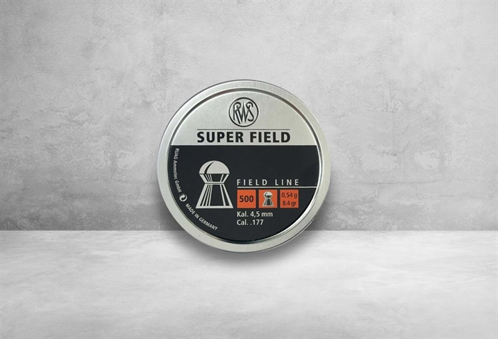 Image of   RWS Super Field 4,5 mm 8,4 grain
