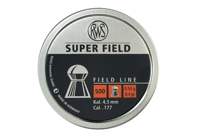 RWS Super Field 4,5 mm 8,4 grain