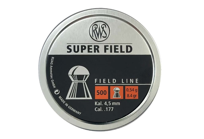 Image of   RWS Super Field 4,5 mm 8,4 grain