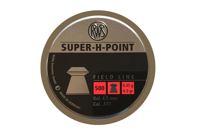 RWS Super-H-Point 4,5 mm 6,9 grain