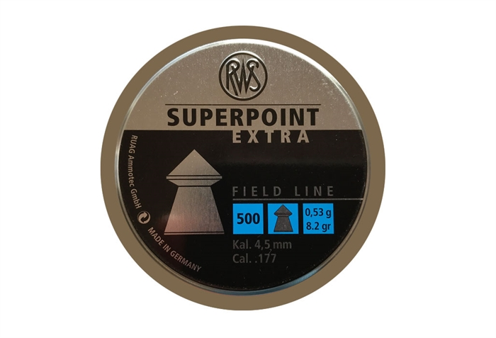 Image of   RWS Superpoint Extra 4,5 mm 8,2 grain