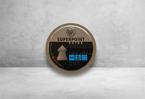 RWS Superpoint Extra 4,5 mm 8,2 grain